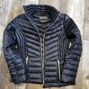 Kenneth Cole reaction light puffer jacket